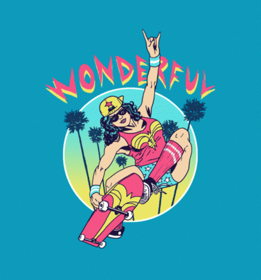BustedTees: Wonderful