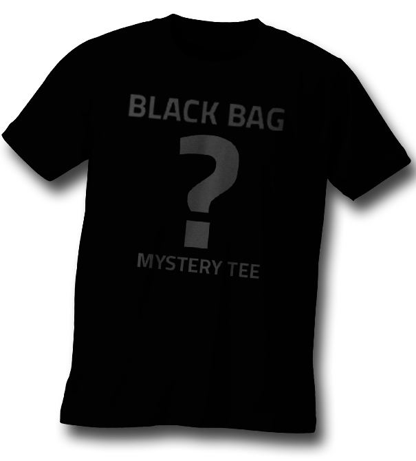 teeVillain: Black Bag Mystery Tee