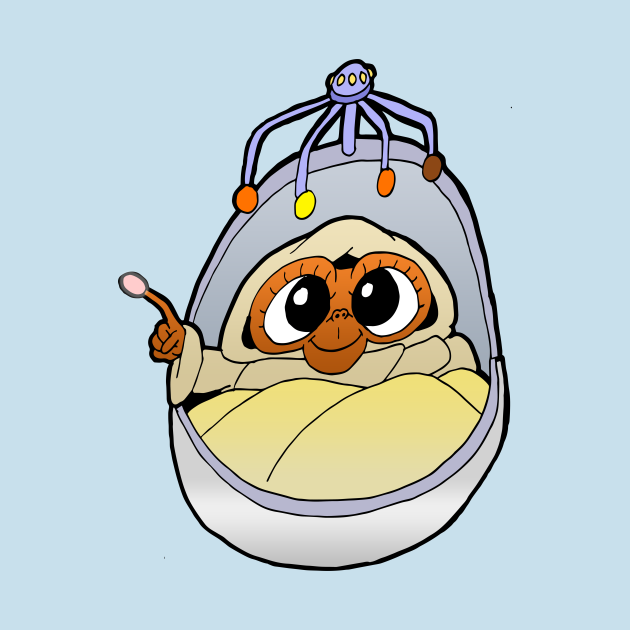 TeePublic: Baby ET