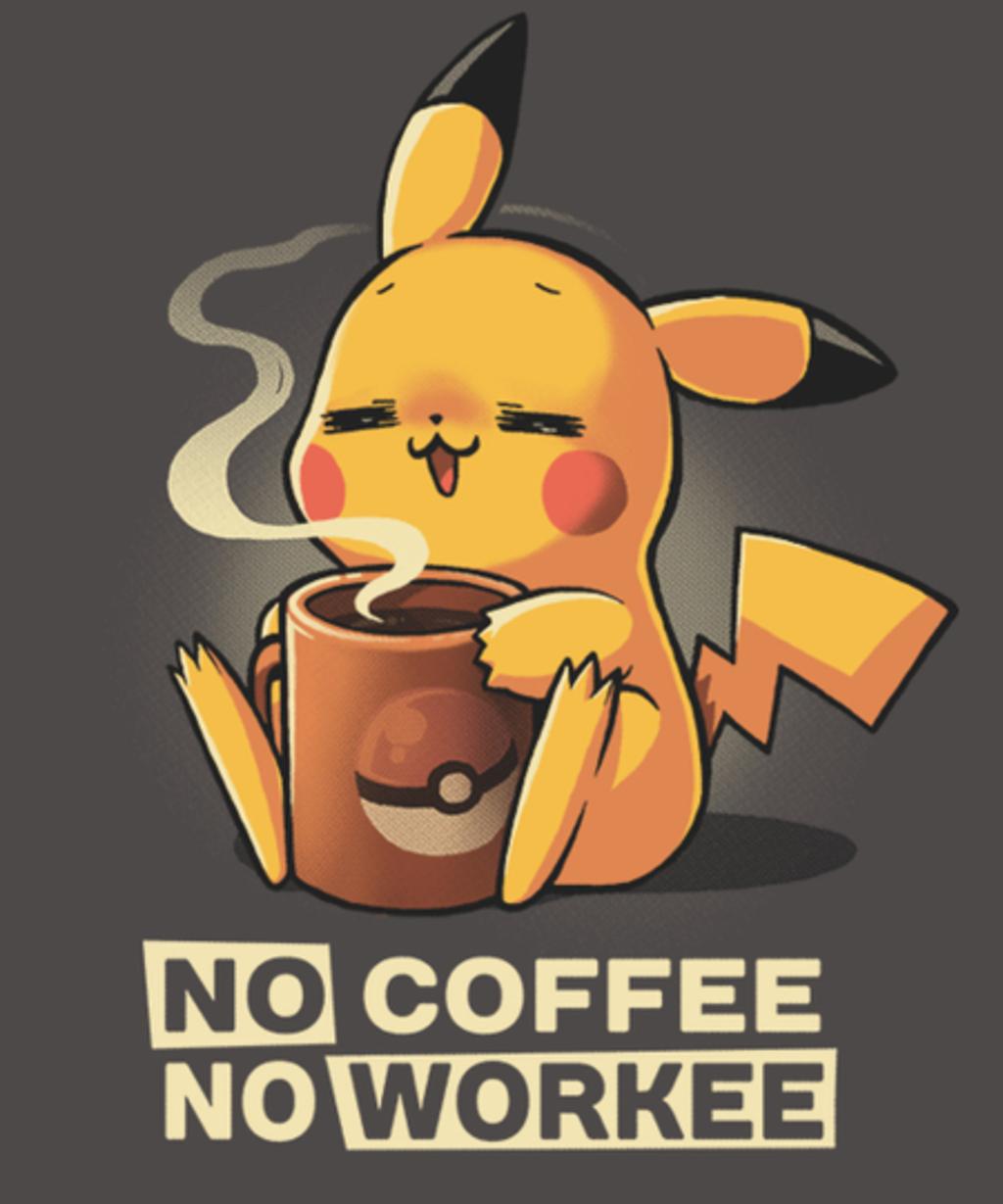 Qwertee: No coffee...