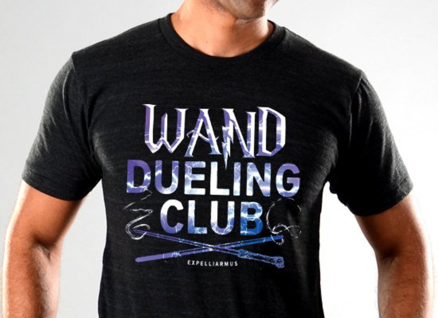 SnorgTees: Wand Dueling Club Limited Edition Tri-Blend