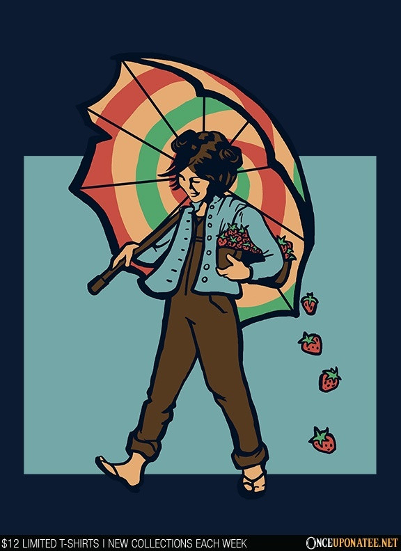 Once Upon a Tee: Strawberry Girl