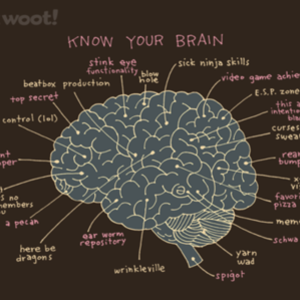 Woot!: Know Your Brain