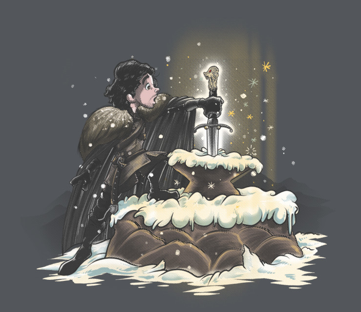 TeeFury: King In The North