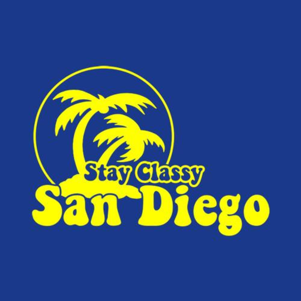 Five Finger Tees: Stay Classy San Diego T-Shirt