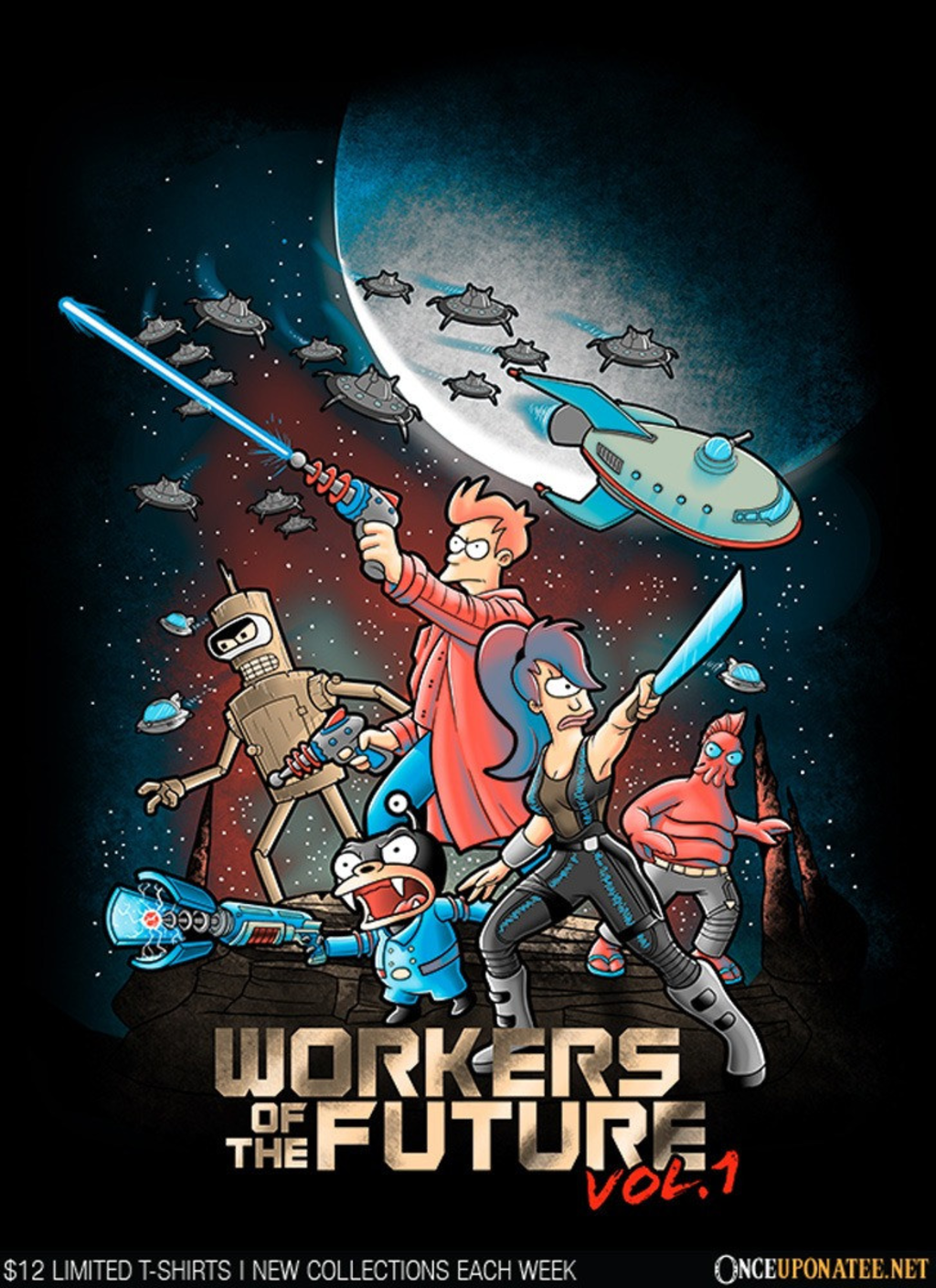 Once Upon a Tee: Workers of the Future: Vol. 1