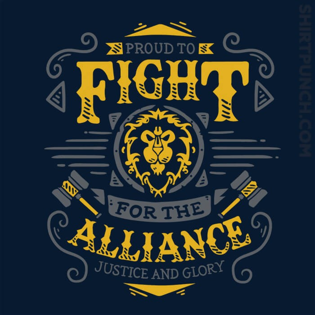 ShirtPunch: Fight For The Alliance