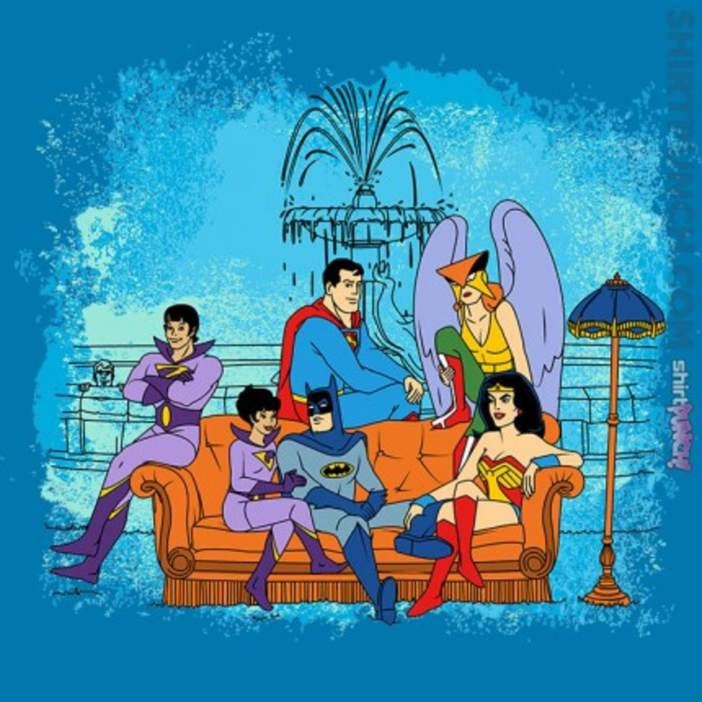 ShirtPunch: Superfriends