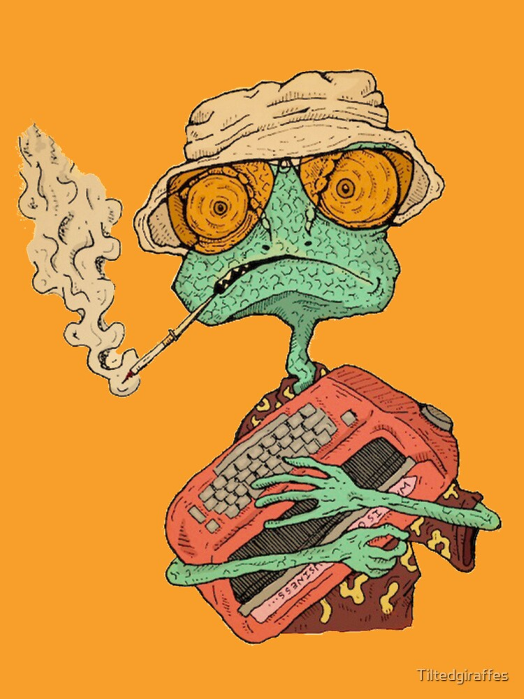 RedBubble: Hunter S. Rango
