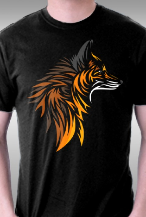 TeeFury: Tribal Fox