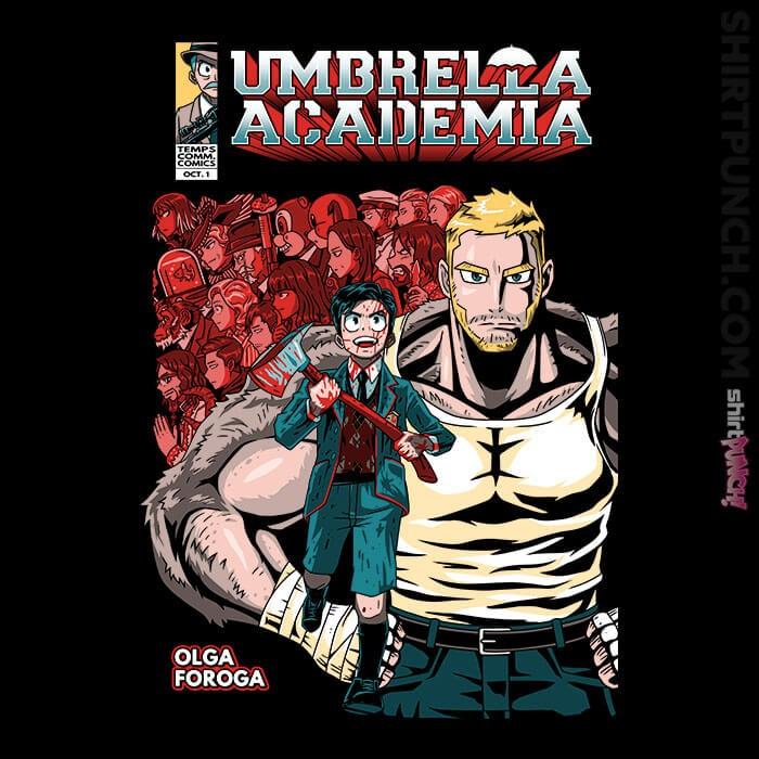 ShirtPunch: Umbrella Academia
