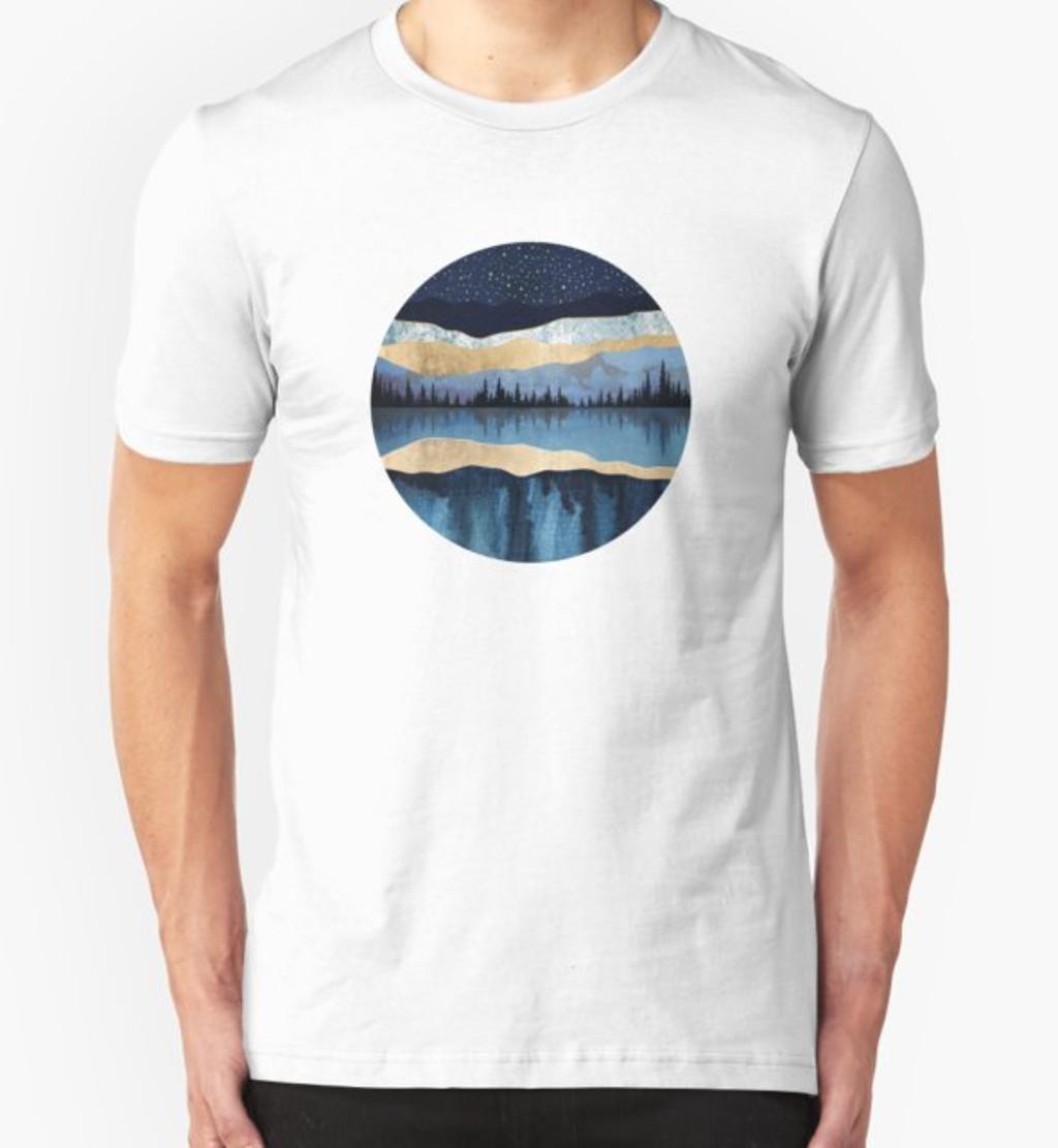 RedBubble: Midnight Lake