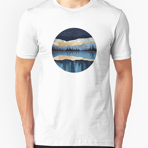 RedBubble: Midnight Lake