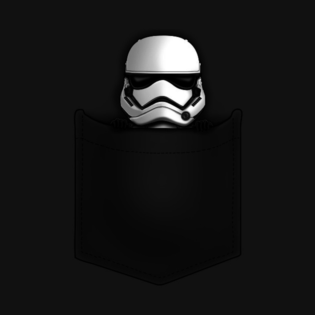 TeePublic: Stormtrooper Pocket T-Shirt