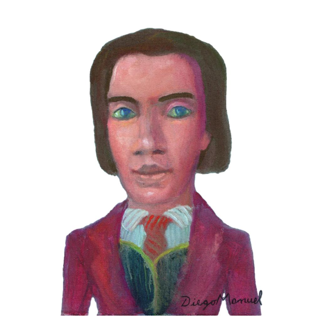 NeatoShop: Oscar Wilde portrait B