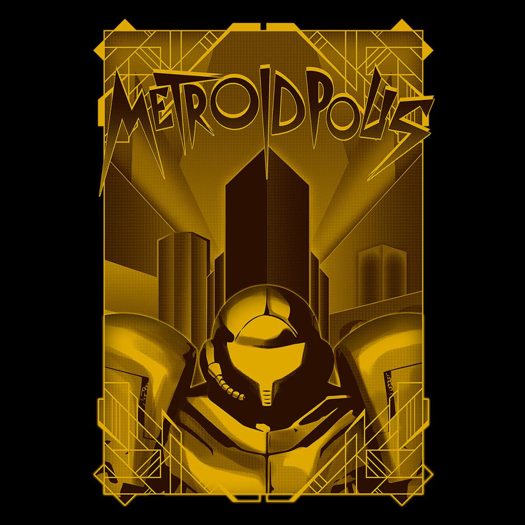 Pop-Up Tee: Metroidpolis