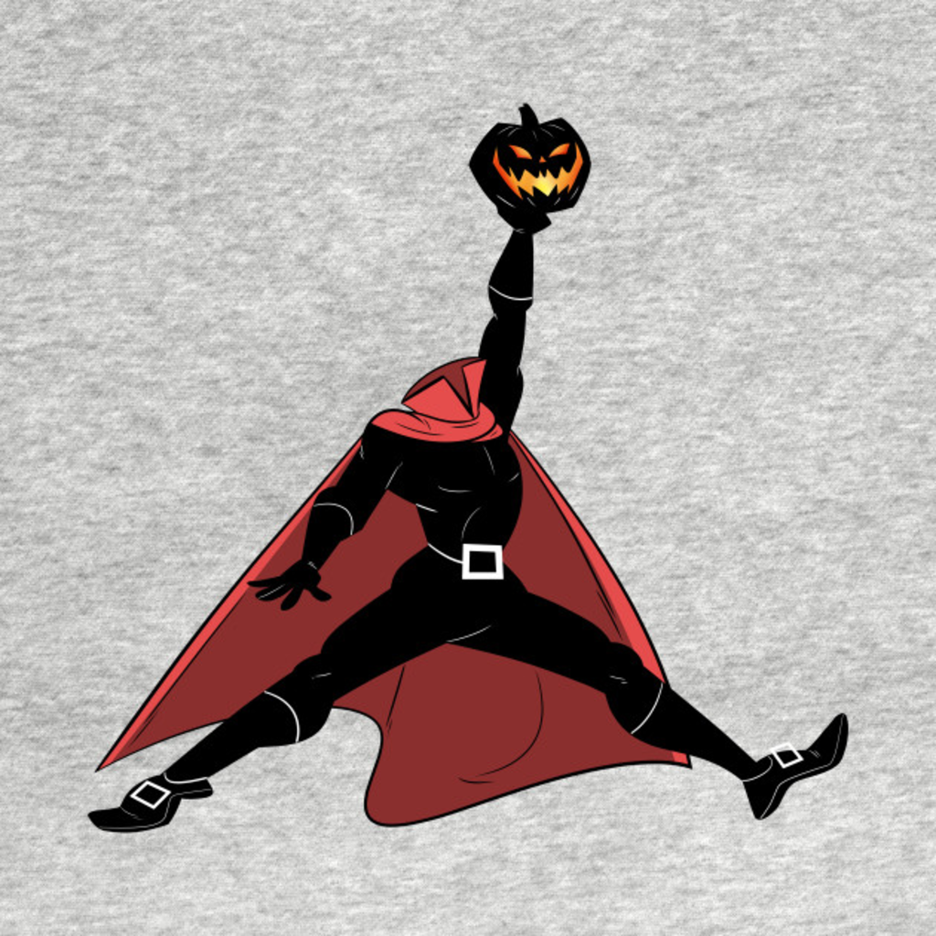 TeePublic: Headless Horse Dunk (Red)
