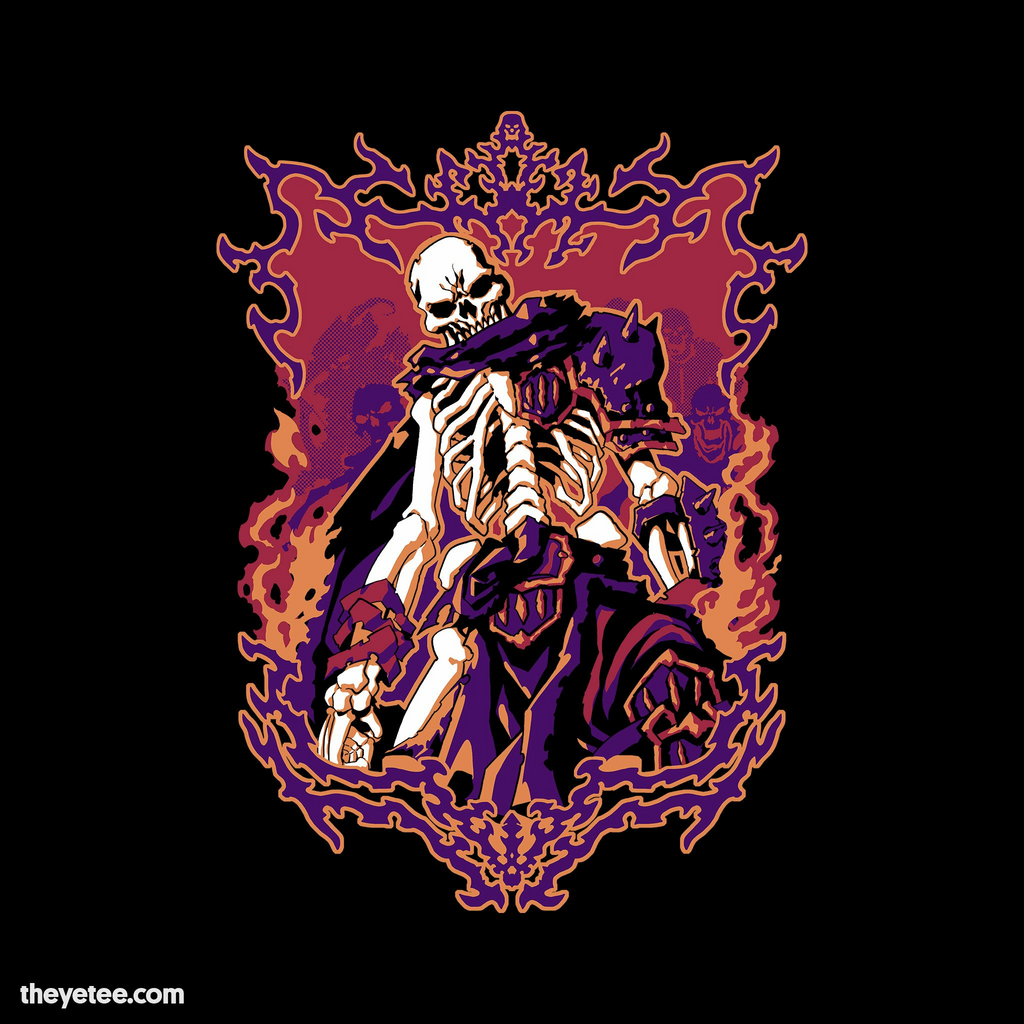 The Yetee: Skeleton Lord