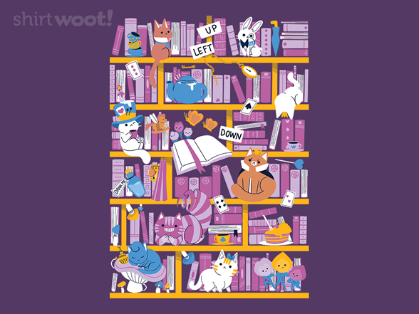Woot!: Library in Wonderland