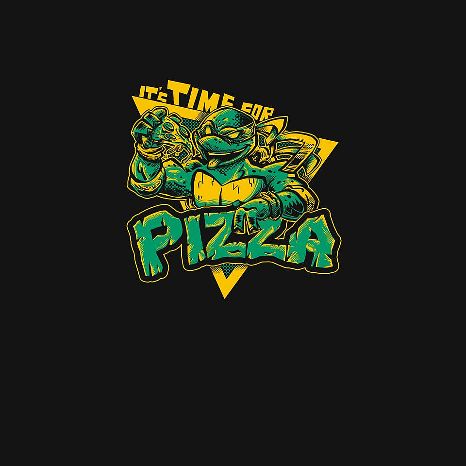 TeeFury: Time For Pizza