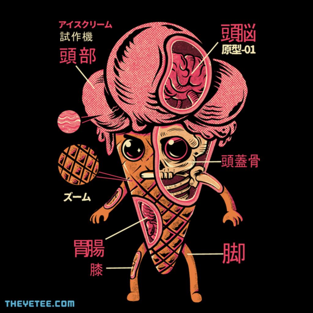 The Yetee: Ice cream kaiju