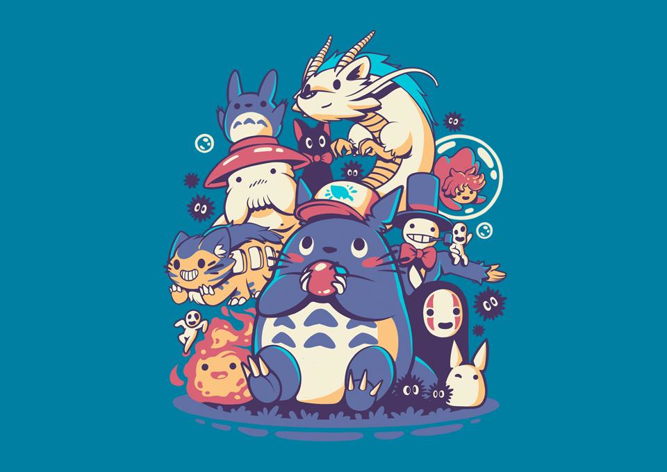 TeeFury: Creatures, Spirits & Friends