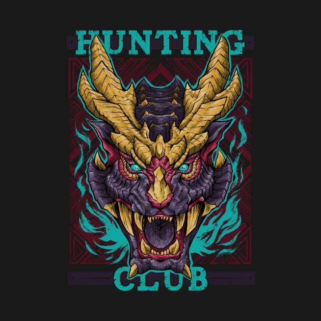 TeePublic: Hunting Club: Wyvern of Malice