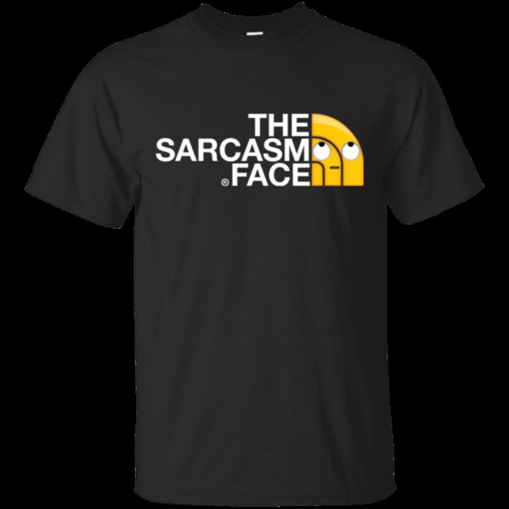 Pop-Up Tee: Sarcasm Face