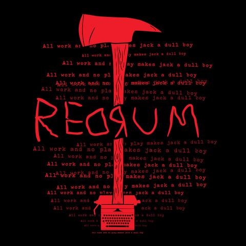 REDRUM Door decal from The Shining on Storenvy & List of Synonyms and Antonyms of the Word: redrum