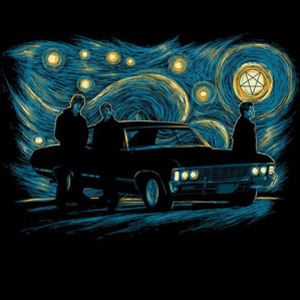 Once Upon a Tee: Starry Winchesters
