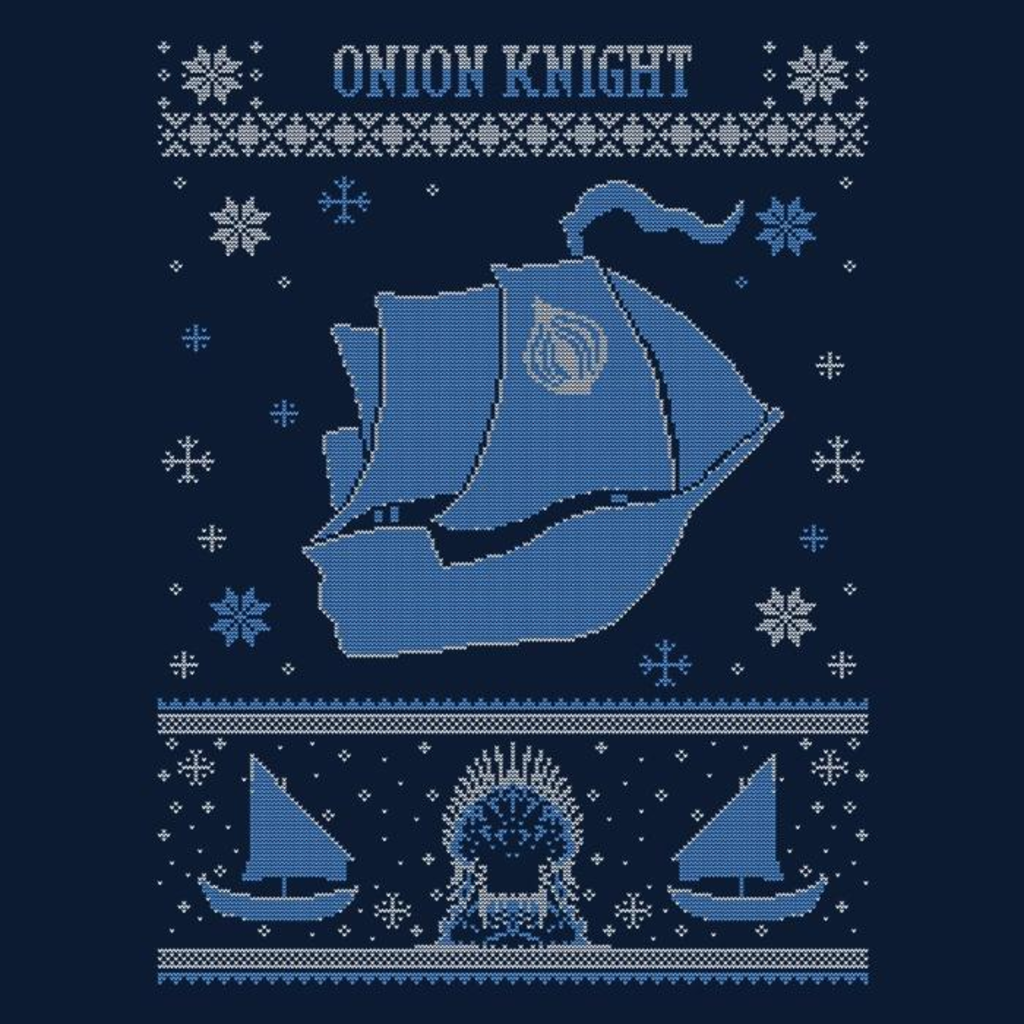 Once Upon a Tee: Onion Knight Sweater