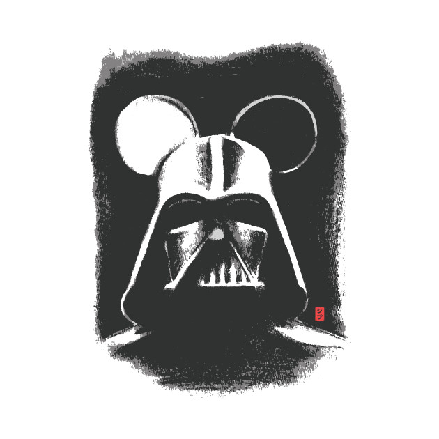 TeePublic: Darth Mouse T-Shirt