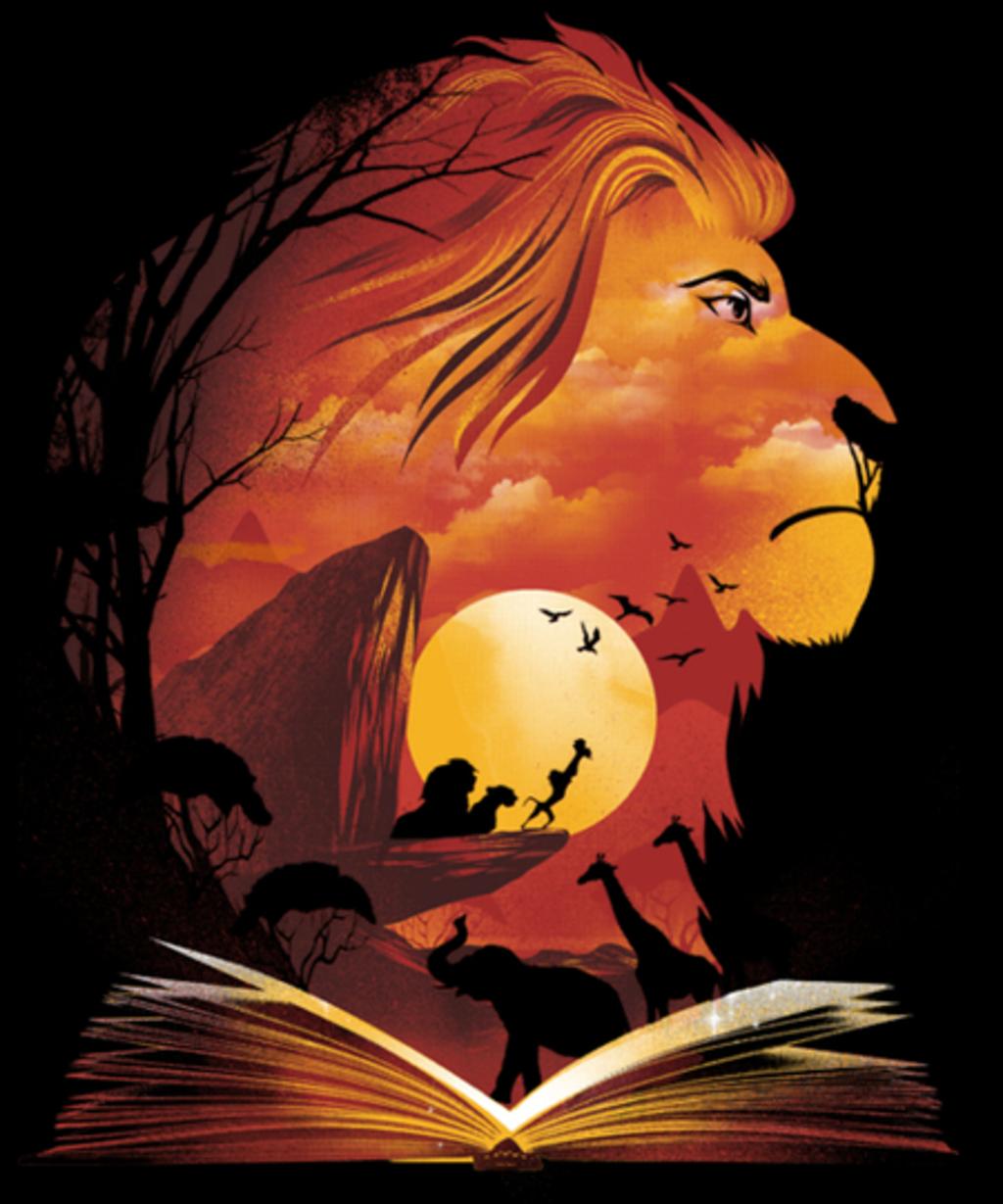 Qwertee: Book of Pride Rock