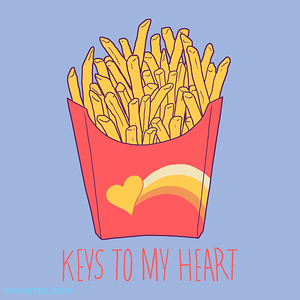 The Yetee: Keys To My Heart