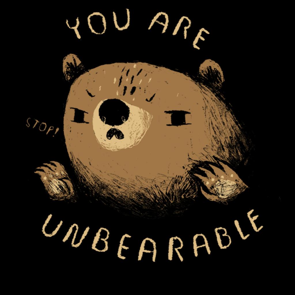 NeatoShop: unbearable