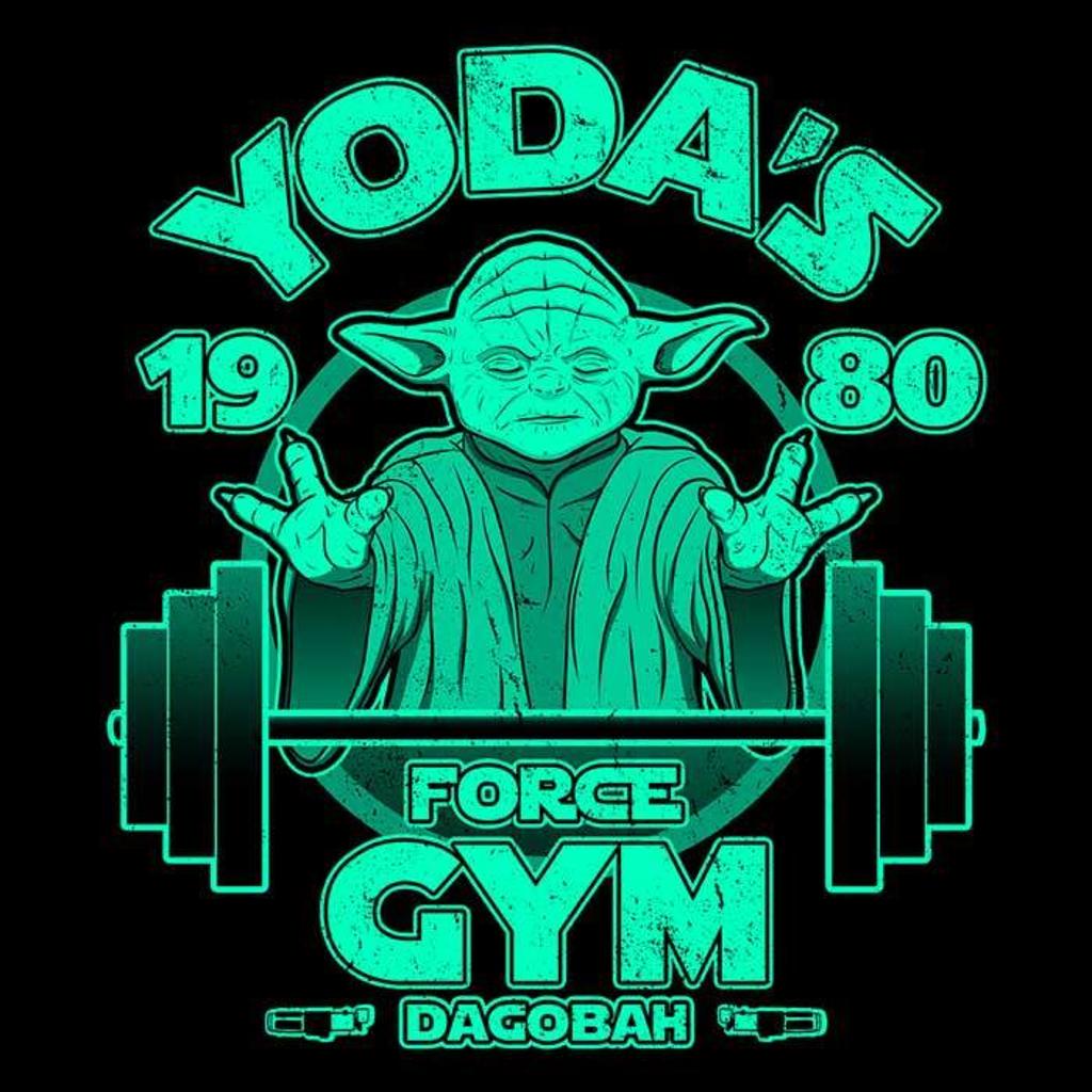Once Upon a Tee: Dagobah Gym