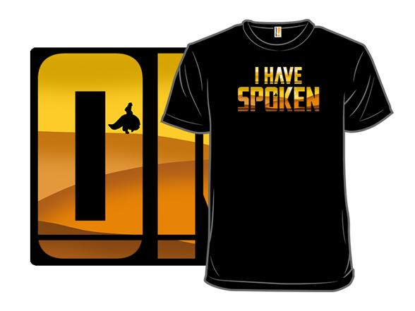 Woot!: I Have Spoken