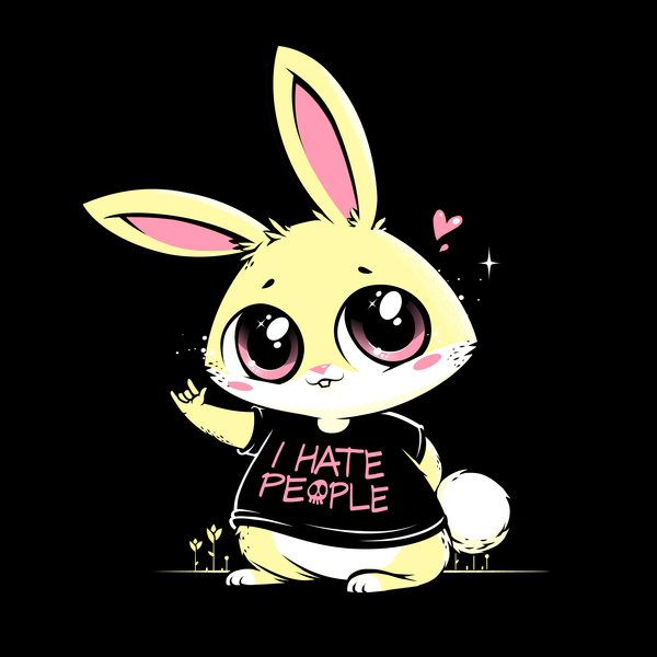 NeatoShop: I Hate People Bunny