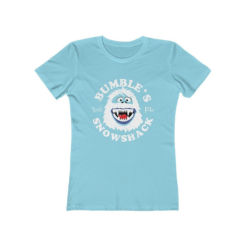 Snappy Kid: Bumble's Snowshack Bumble Abominable Snowman Women's T-Shirt