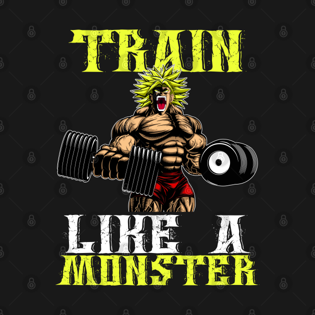 TeePublic: TRAIN LIKE A MONSTER