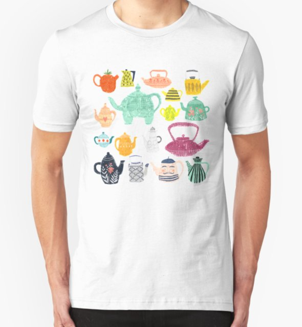 RedBubble: Have a Tea-riffic Day!