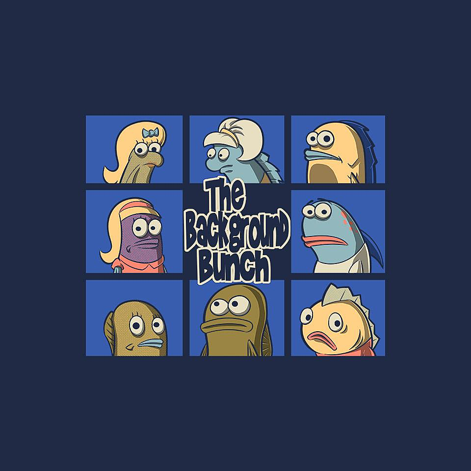 TeeFury: The Background Bunch