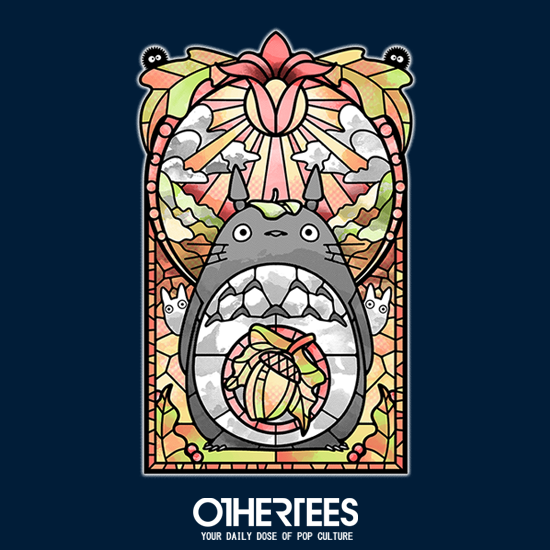 OtherTees: Stained Glass Forest Spirit