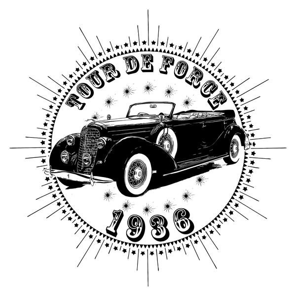 NeatoShop: Vintage Classic Car 1936 Tour De Force Linco