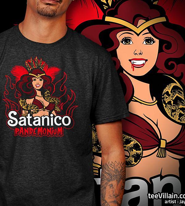 teeVillain: Funtime El Satanico