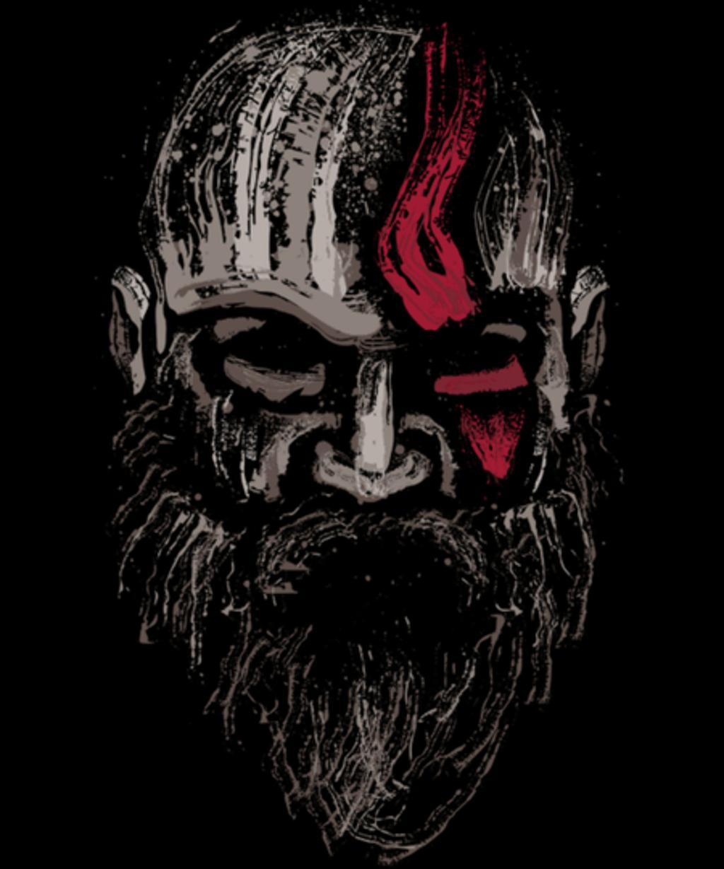 Qwertee: The Warrior of gods