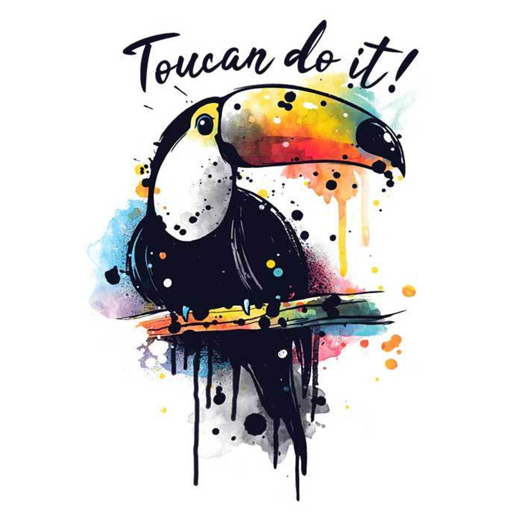 Once Upon a Tee: Toucan Do It