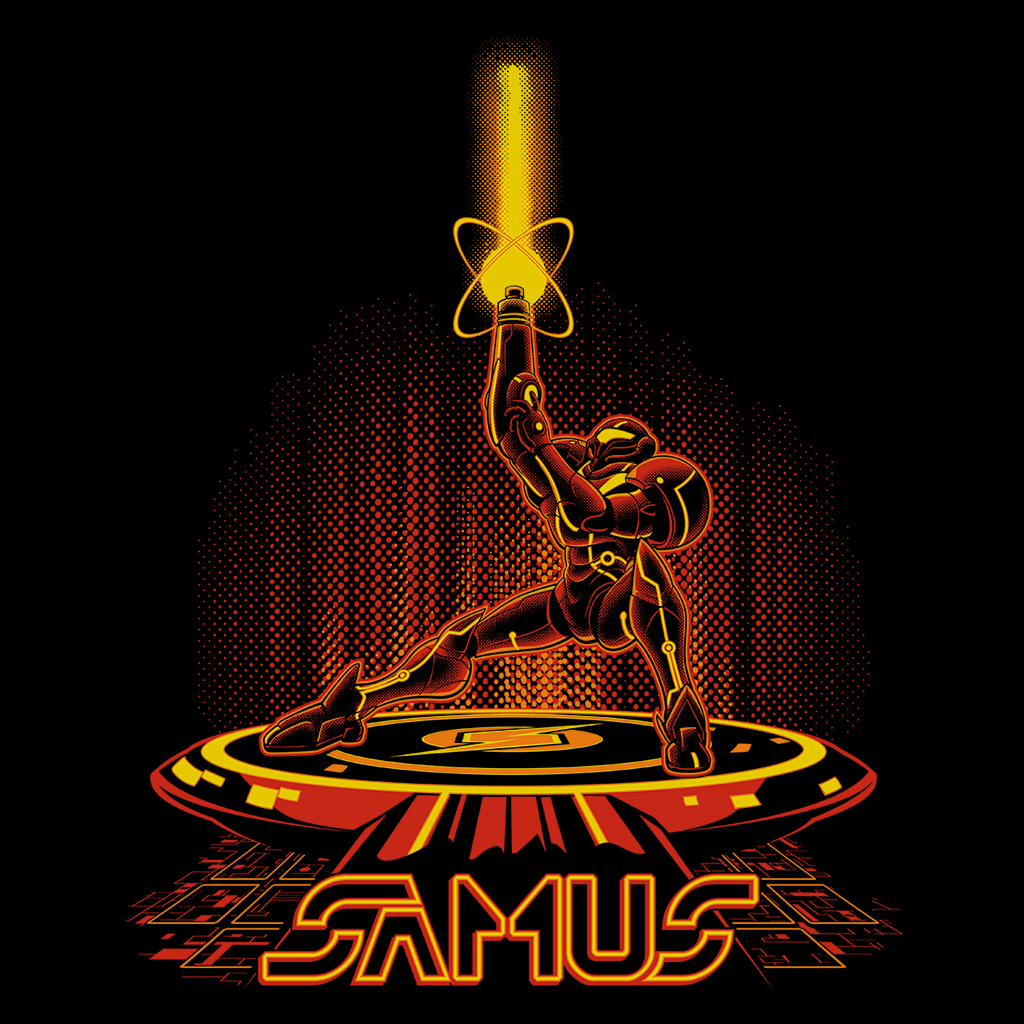 Pop-Up Tee: SamTron