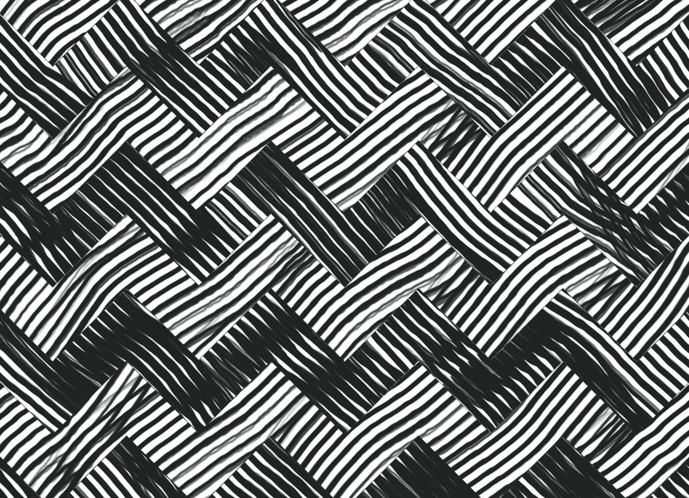 Threadless: abstract chevron weave