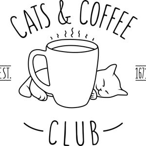 Design by Humans: Cats and Coffee club